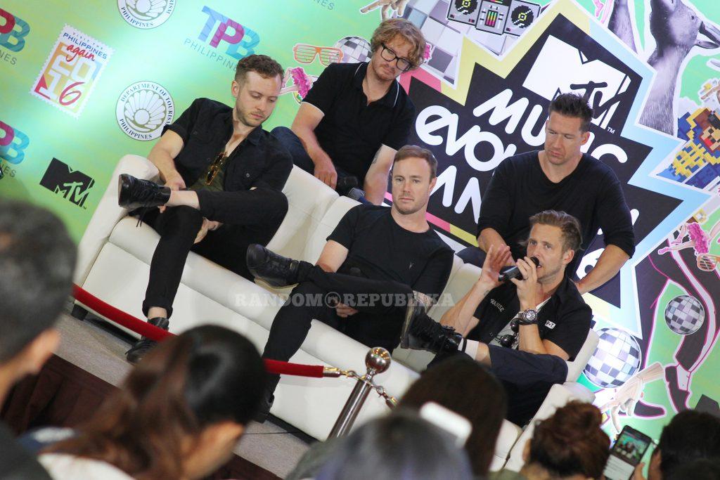 MTV Music Evolution Manila 2016 MTV Asia MTV Music Evo One Republic 3 copy