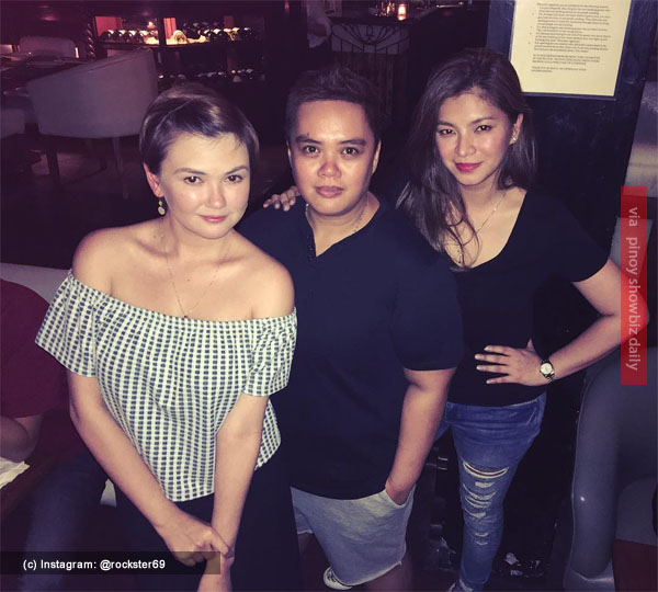 angelica panganiban and angel locsin spotted hanging out together