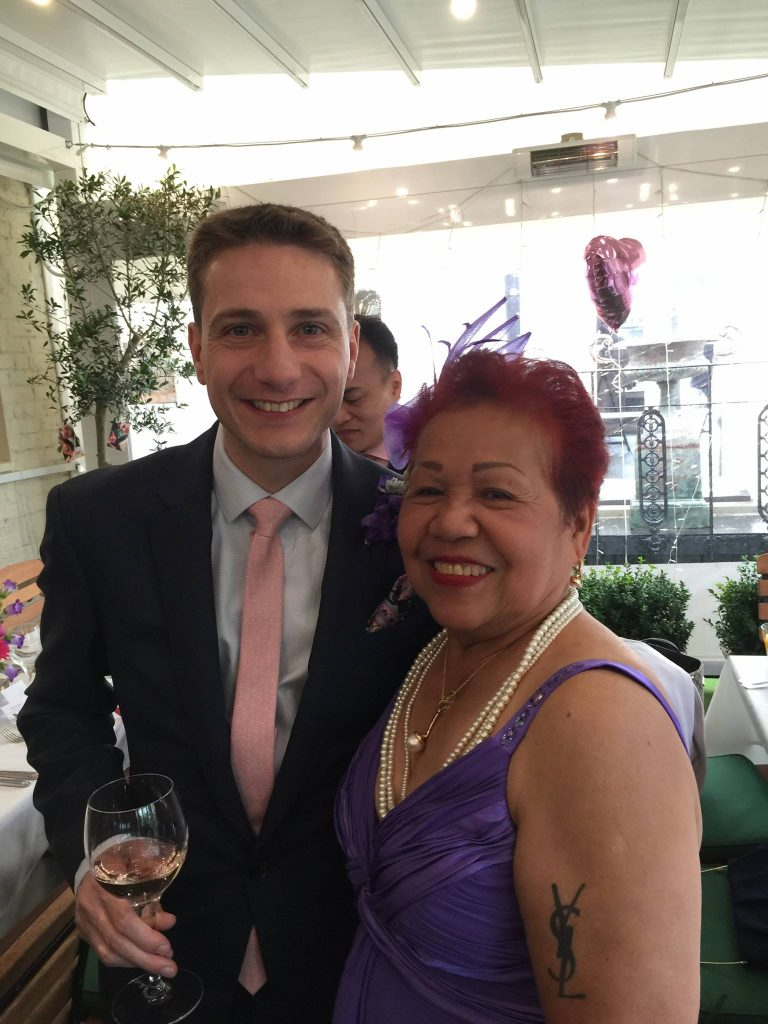 Love Wins Ate Glow Rene Boy Facunla Marries British Partner In London