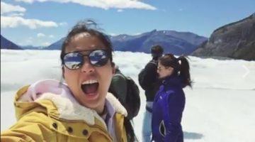 isabel daza with fiance anne curtis and erwann heussaff in argentina travel celebrity barkada