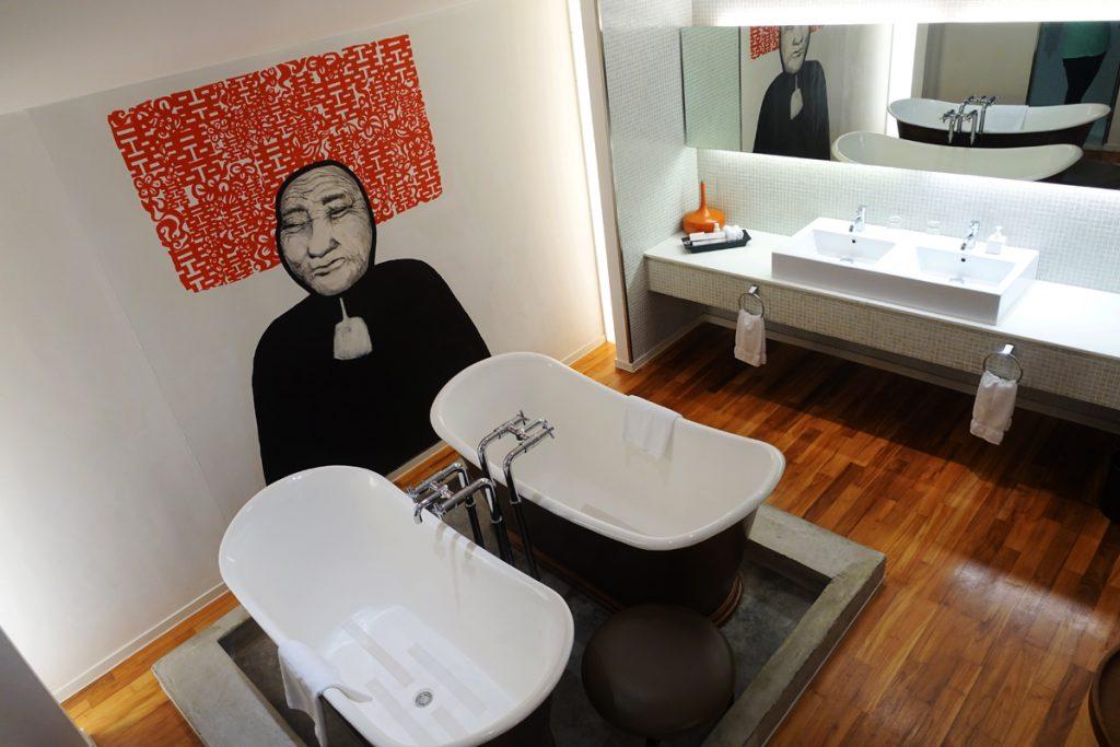 unique design wall attic suite new majestic hotel arts decor singapore unlisted collection