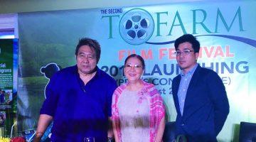 Dr. Milagros How Director Maryo J. De los Reyes Rommel Cunanan TOFARM Film Festival 2017