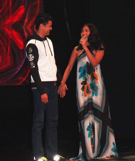 Mark Zambrano Aicelle Santos AiMark Boyfriend Girlfriend Alden Richards in Singapore GMA 3
