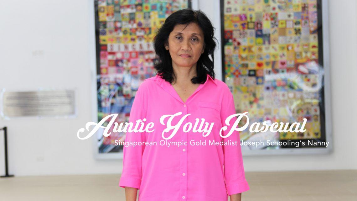 auntie yolly pascual singtel joseph schooling's filipina nanny yaya