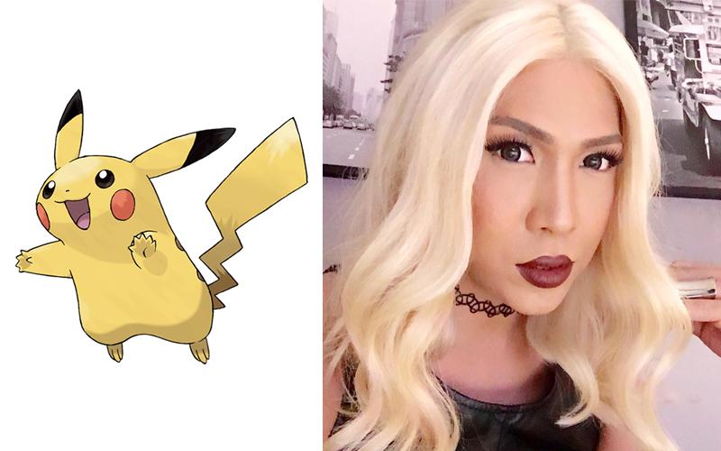 vice ganda pikachu pokemon go