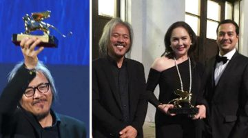 Director Lav Diaz Wins Golden Lion For Best Film For Ang Babaeng Humayo At The Venice Film